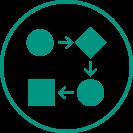 Um eine gute Zusammenarbeit über alle Abteilungen hinweg zu gewährleisten, bietet der ORBIS Product Cost Calculator einen integrierten Workflow mit Benachrichtigungen.